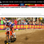Herlings Goes 1-1 at Ironman